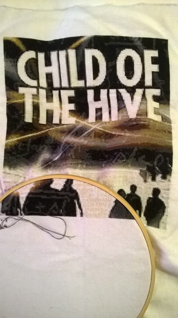 Child of the Hive cover cross stitch 1