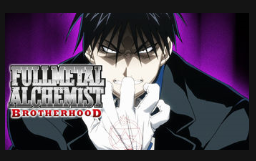 Screenshot of the Fullmetal Alchemist Brotherhood thumbnail on Netflix