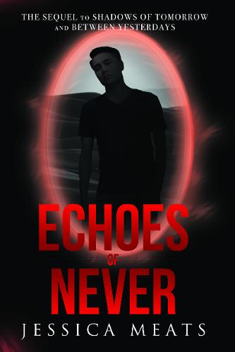Book cover for Echoes of Never by Jessica Meats